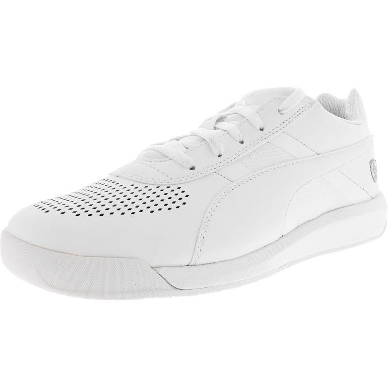 Daily Steals-Puma Men's Ferrari Podio Ankle-High Leather Fashion Sneaker - 7.5-Men's Accessories-