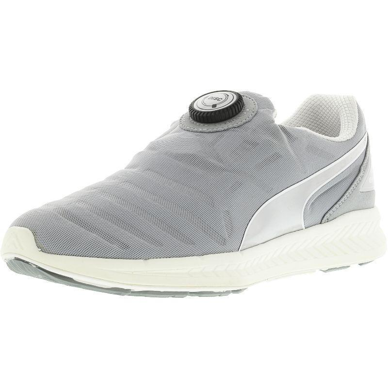 Daily Steals-Puma Women's Ignite Disc Ankle-High Fabric Fashion Sneaker-Women's Accessories-Grey-7-