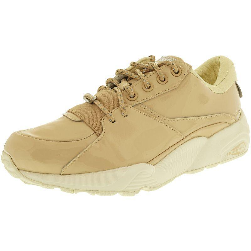 Daily Steals-Puma Women's R698 Patent Nude Slate Ankle-High Fashion Sneaker-Women's Accessories-Beige-6N-