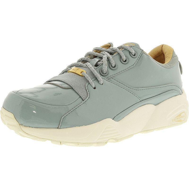 Daily Steals-Puma Women's R698 Patent Nude Slate Ankle-High Fashion Sneaker-Women's Accessories-Grey-7.5-