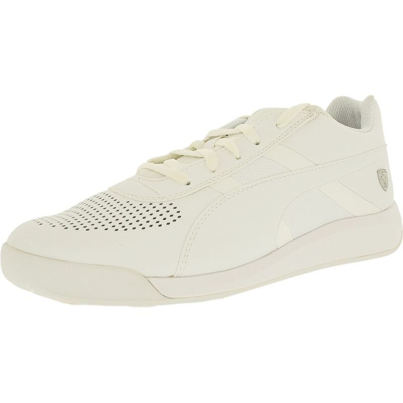 Puma Men's Podio Td Sf White-White Ankle-High Fashion Sneaker-8.5-Daily Steals