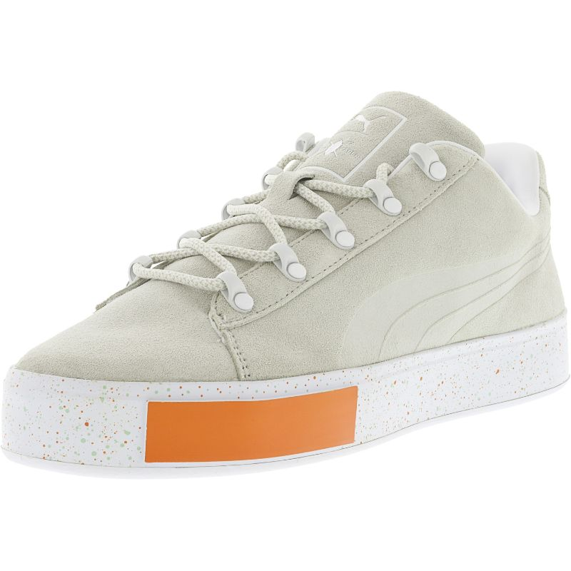 Puma Men's X Dp Court Platform Ss Ankle-High Fashion Sneaker-Grey-13-Daily Steals