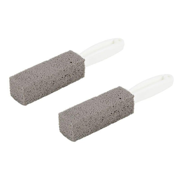 Pumice Cleaning Stone with Handle - 2 Pack