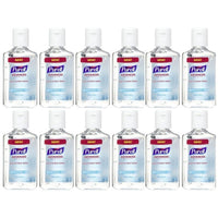 Purell Advanced Hand Sanitizer Refreshing Gel, 1 FL OZ - 12 Pack-