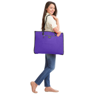 Biaggi Luggage Hangeroo Two-In-One Garment Bag + Tote-Violet Purple-Daily Steals