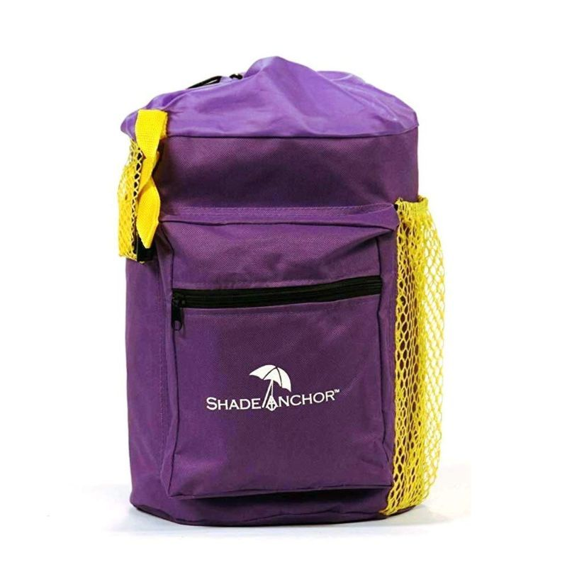 Shade Anchor Bag - Beach Umbrella Sand Anchor-Purple-Daily Steals