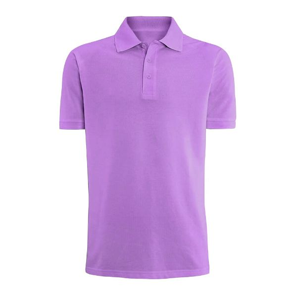Men's Fashion Classic Fit Cotton Polo Shirt - Multiple Colors-Purple-S-Daily Steals