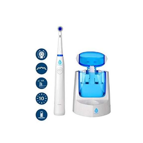 Pursonic RET200 Electric Toothbrush - 12 Brush Heads Included-