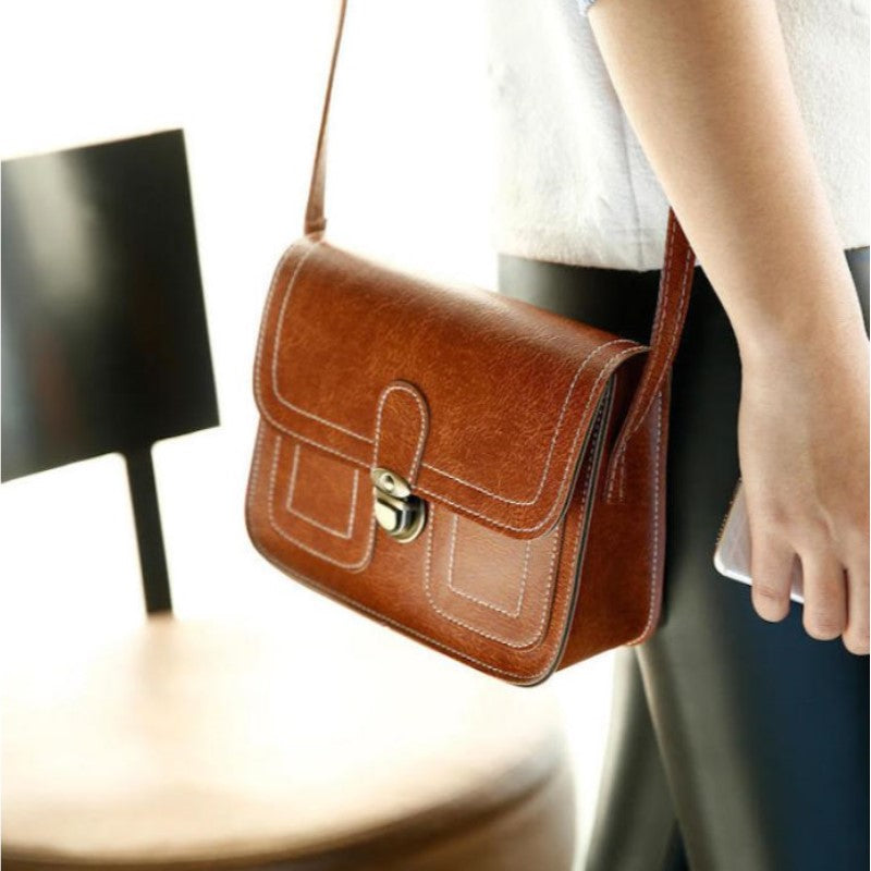 Push Button Shoulder Bag-Daily Steals