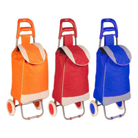 Polyester Pull Behind Rolling Travel Hand Cart