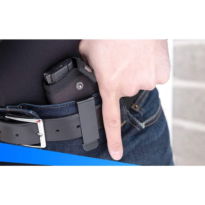 Concealed Carry Magnetic Stabilizing Versatile Handgun Holster - IWB/OWB