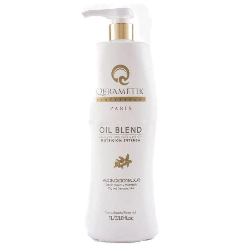 Qerametik Professional Conditioner Oil Blend for Dry and Damaged - 1L/250ml-1L/33.8fl.oz-