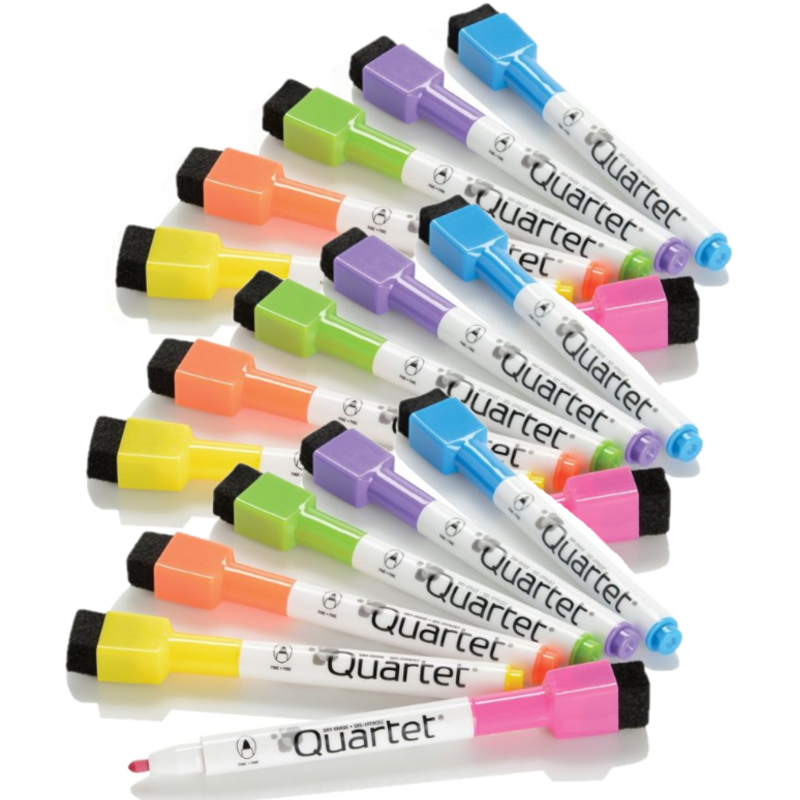 Quartet ReWritables Dry Erase Markers - 18 Pack-Daily Steals