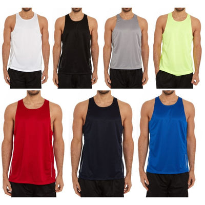 74930114303b0e Daily Steals-Men s Active Athletic Performance Tanks - 2 Pack-Men s  Apparel-S