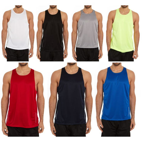 update alt-text with template Daily Steals-Men's Active Athletic Performance Tanks - 2 Pack-Men's Apparel-S-