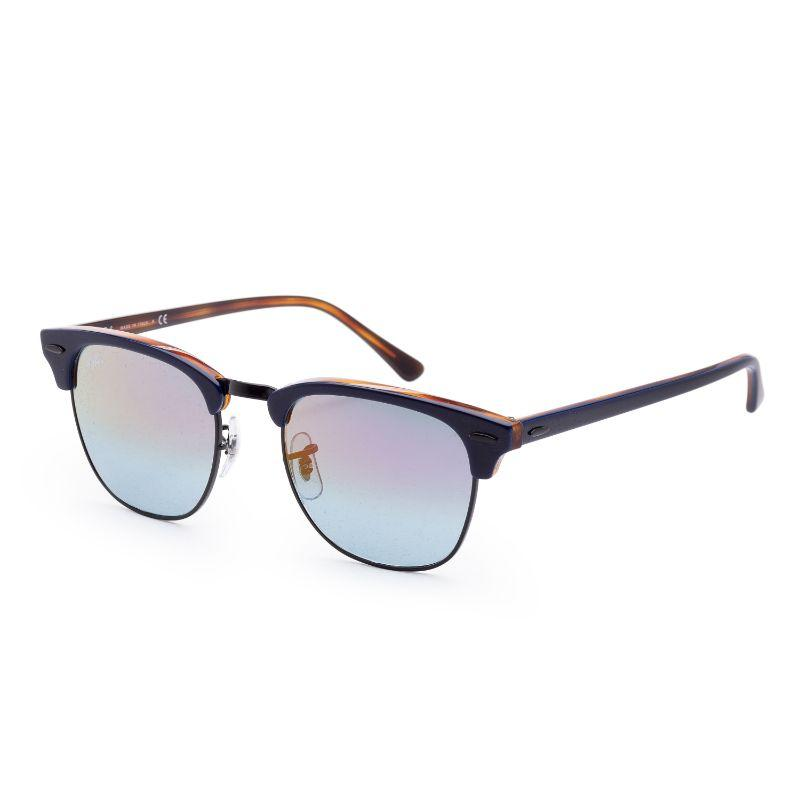 Ray-Ban Men's RB3016-1278T651 Fashion 51mm Blue On Havana Red Frame Sunglasses-