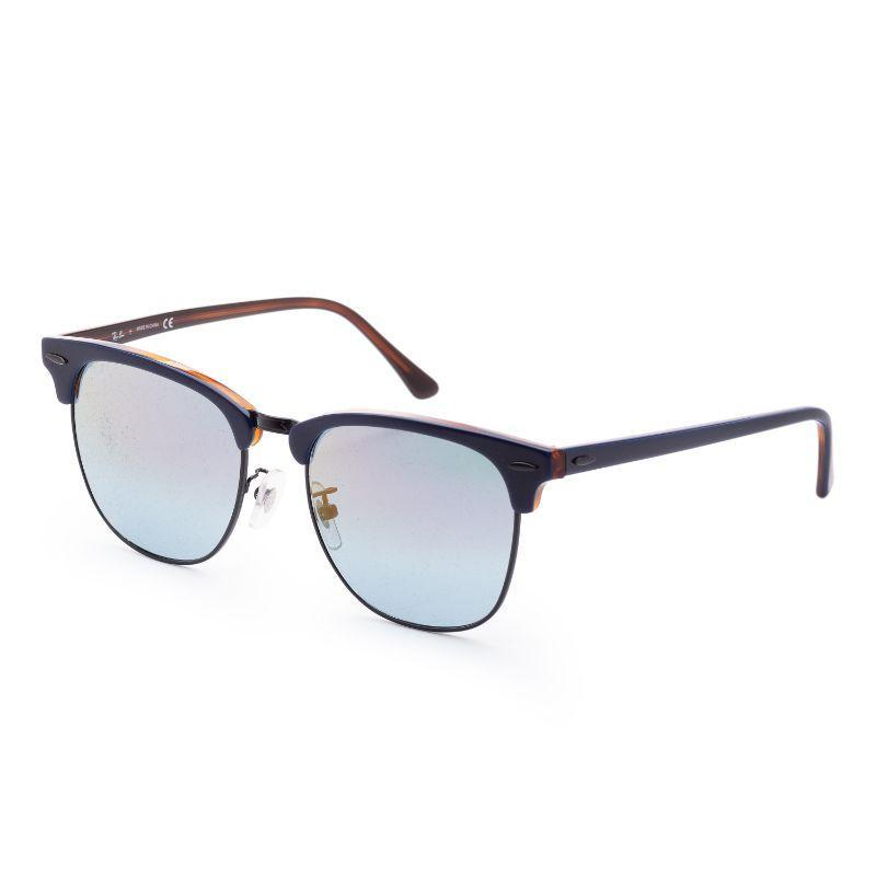 Ray-Ban Men's RB3016F-1278T655 Fashion 55mm Blue On Havana Red Frame Sunglasses-