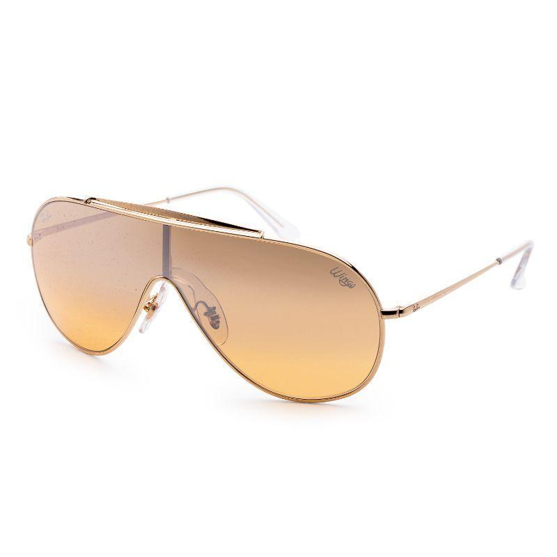 Ray-Ban Men's RB3597-9050Y133 Fashion 33mm Gold Frame Sunglasses-