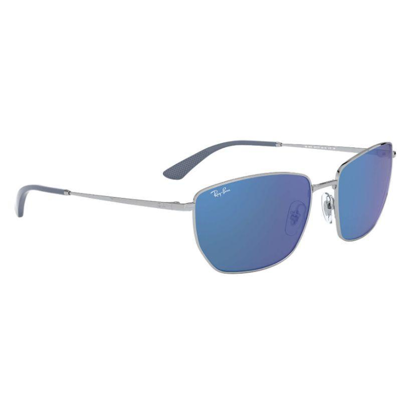 Ray-Ban Men's RB3653-003-5560 Fashion 60mm Silver Frame Sunglasses-