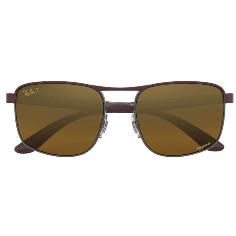 Ray-Ban Men's RB3660CH-188-A358 Fashion 58mm Top Matte Violet Sunglasses-