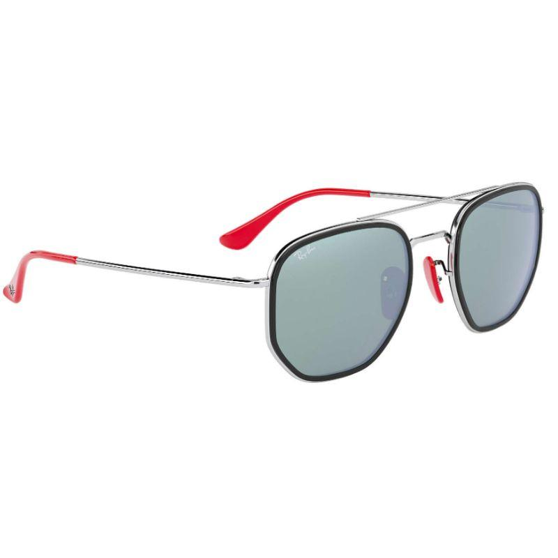 Ray-Ban Men's RB3748M-F0313052 Fashion 52mm Silver Frame Sunglasses-