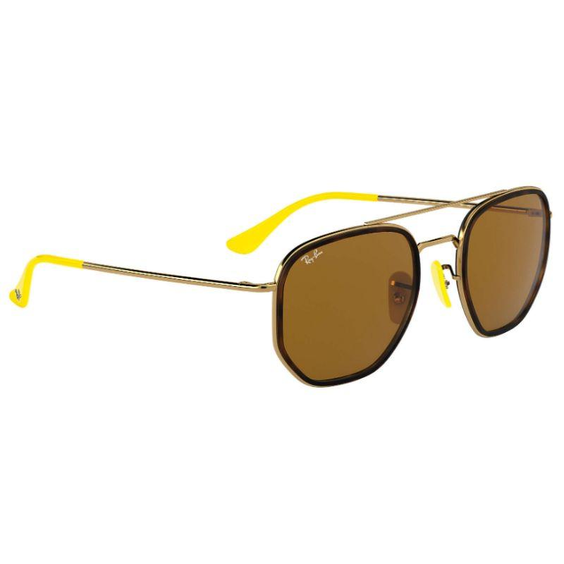 Ray-Ban Men's RB3748M-F0343352 Fashion 52mm Gold Frame Sunglasses-