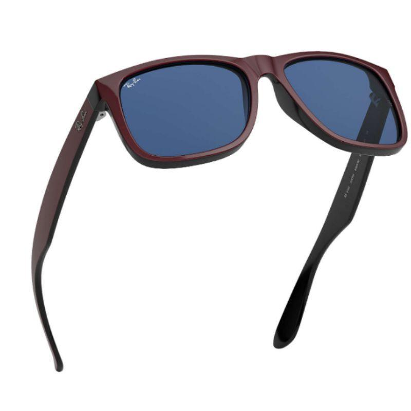 Ray-Ban Men's RB4165-64698051 Fashion 51mm Bordeaux Metallic On Black Sunglasses-