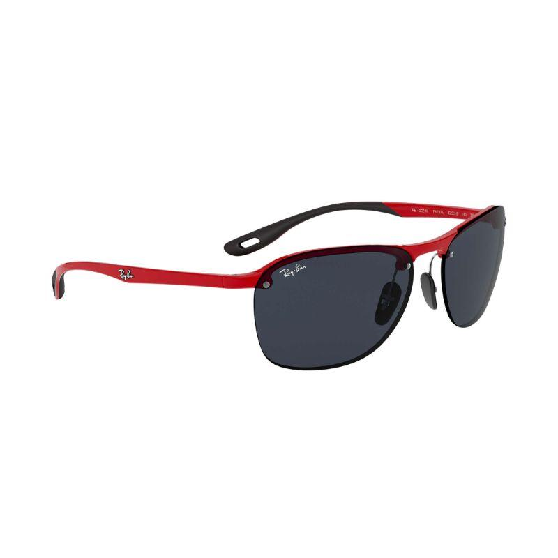 Ray-Ban Men's RB4302M-F62387-62 62mm Red Sunglasses-