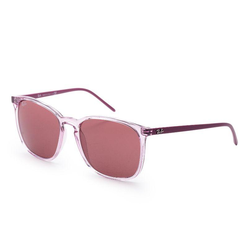 Ray-Ban Men's RB4387-64007556 Fashion 56mm Transparent Pink Frame Sunglasses-