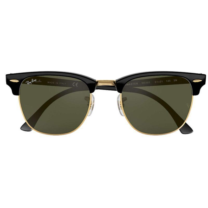 Ray-Ban RB3016 W0365 49mm Clubmaster Classic G-15 Non-Polarized Sunglasses-