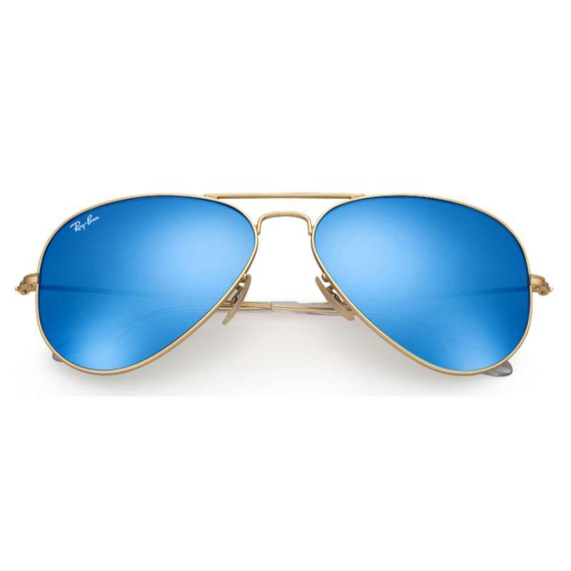 Ray-Ban RB3025 58 112/17 Unisex Aviator Flash Unisex Sunglasses-