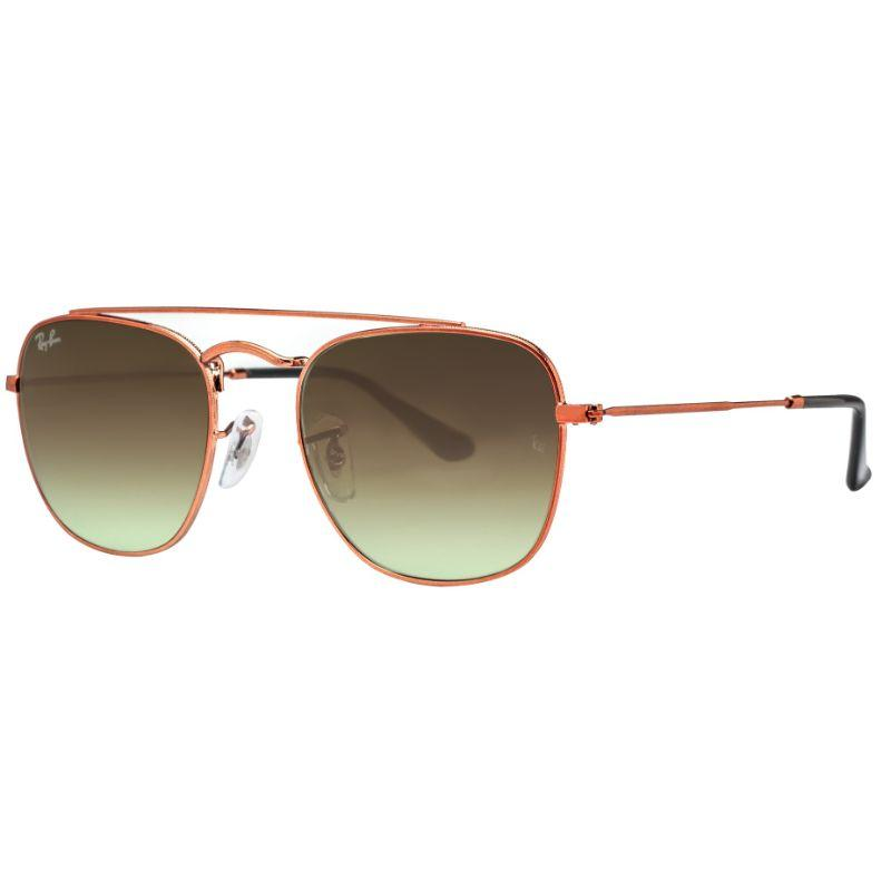 Ray Ban RB3557 9002/A6 51mm Bronze Copper/Brown Caravan Square Sunglasses-Daily Steals