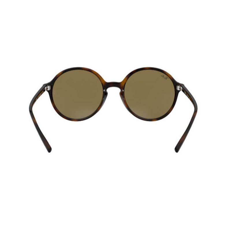 Ray-Ban RB4304 Brown Dark Green Classic Round Nylon Sunglasses for Women-Daily Steals