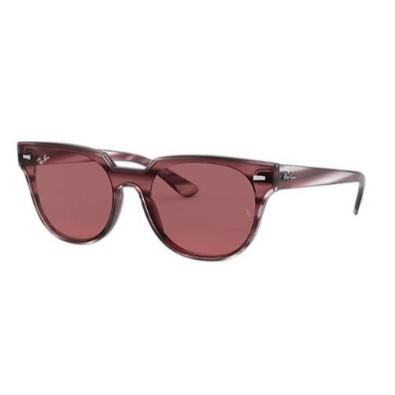 Ray-Ban RB4368N Dark Purple Classic Blaze Meteor Unisex Sunglasses-Daily Steals