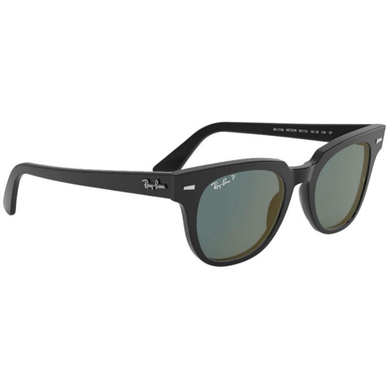 Ray-Ban Unisex RB2168-901-5250 Meteor 50mm Black Sunglasses-