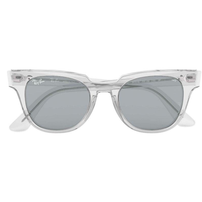Ray-Ban Unisex RB2168-912-I550 Meteor Evolve 50mm Trasparent Sunglasses-