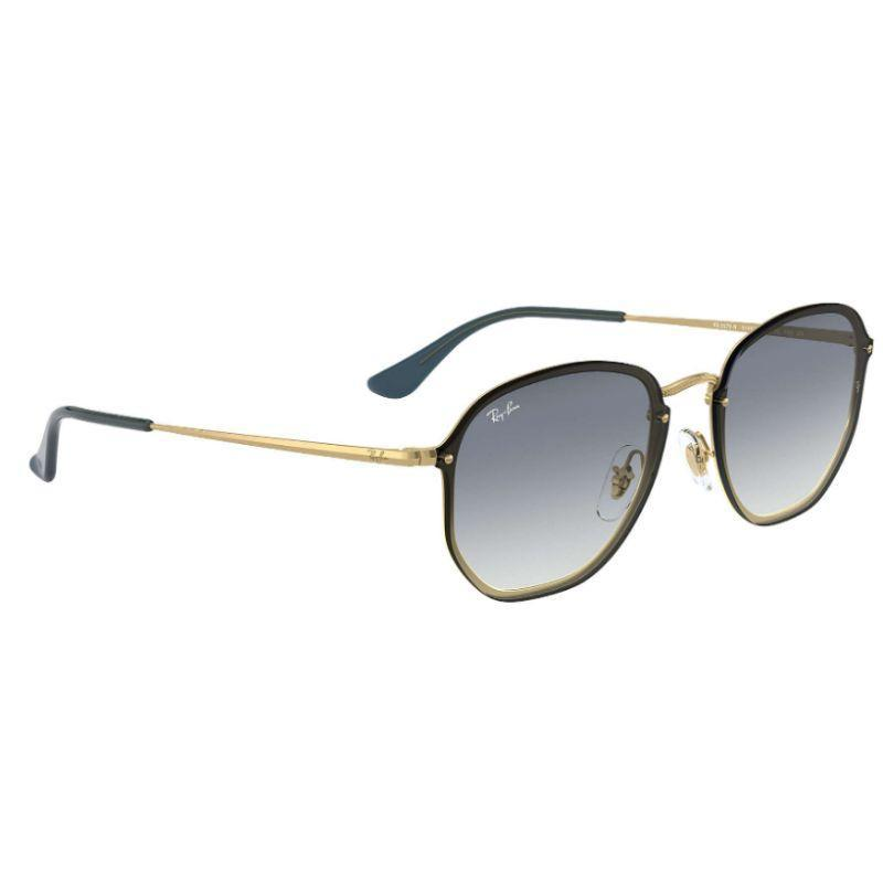 Ray-Ban Unisex RB3579N-91400S58 Hexagonal 58mm Demi Gloss Gold Sunglasses-