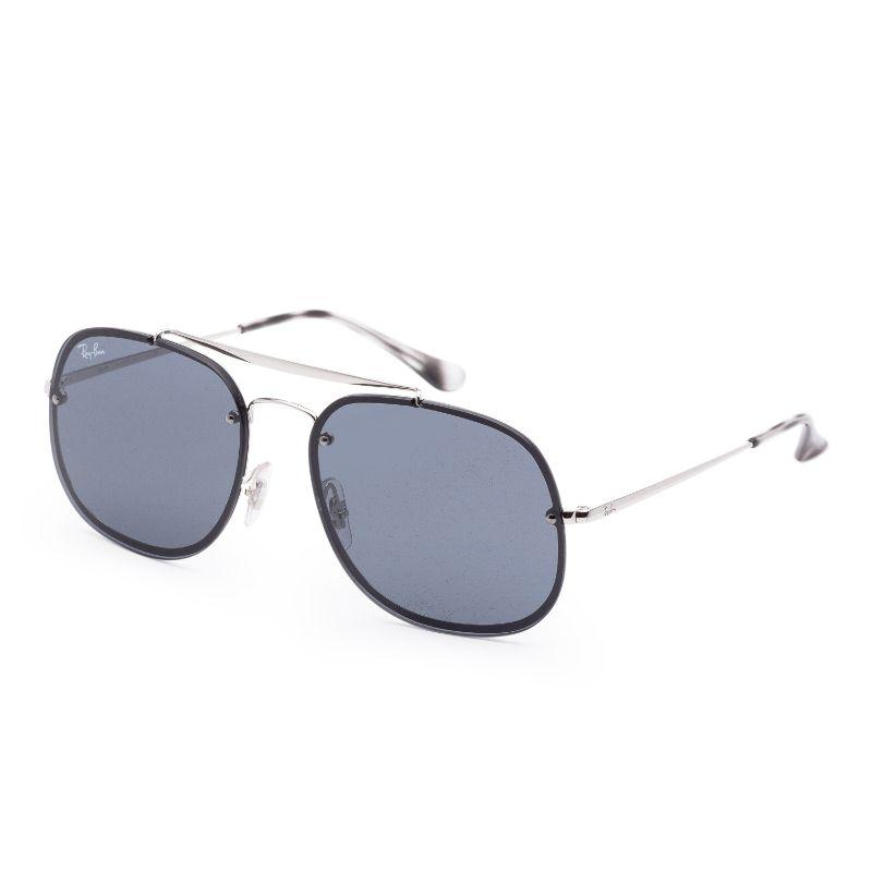 Ray-Ban Unisex RB3583N-003-8758 Blaze 58mm Silver Sunglasses-