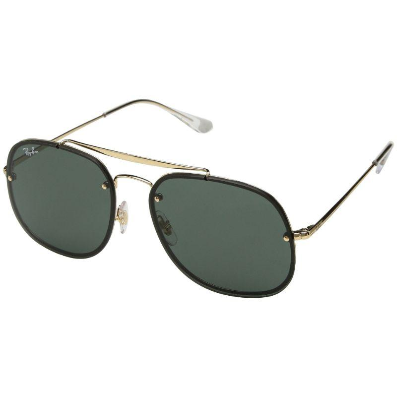 Ray-Ban Unisex RB3583N-905071-58 Blaze 58mm Gold Sunglasses-
