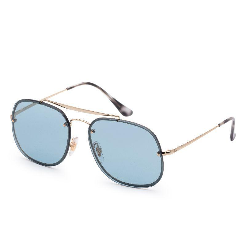 Ray-Ban Unisex RB3583N-91738058 Blaze 58mm Gold Sunglasses-