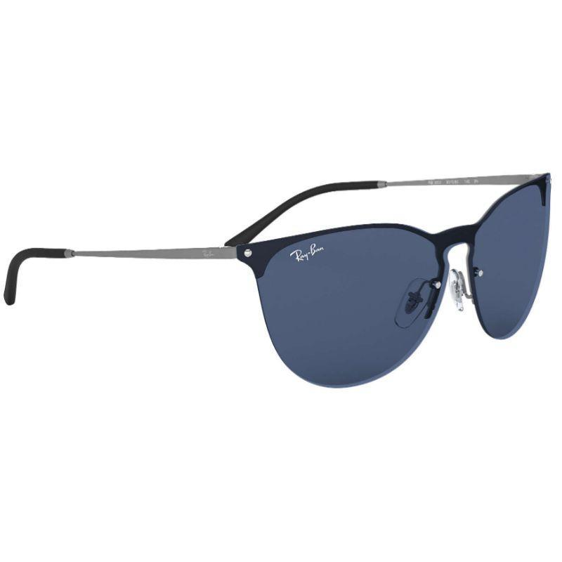 Ray-Ban Unisex RB3652-90158041 Designer 41mm Rubber Gunmetal Sunglasses-