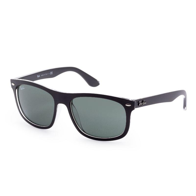 Ray-Ban Unisex RB4226-60527156 Designer 56mm Top Matte Black On Trasp Sunglasses-