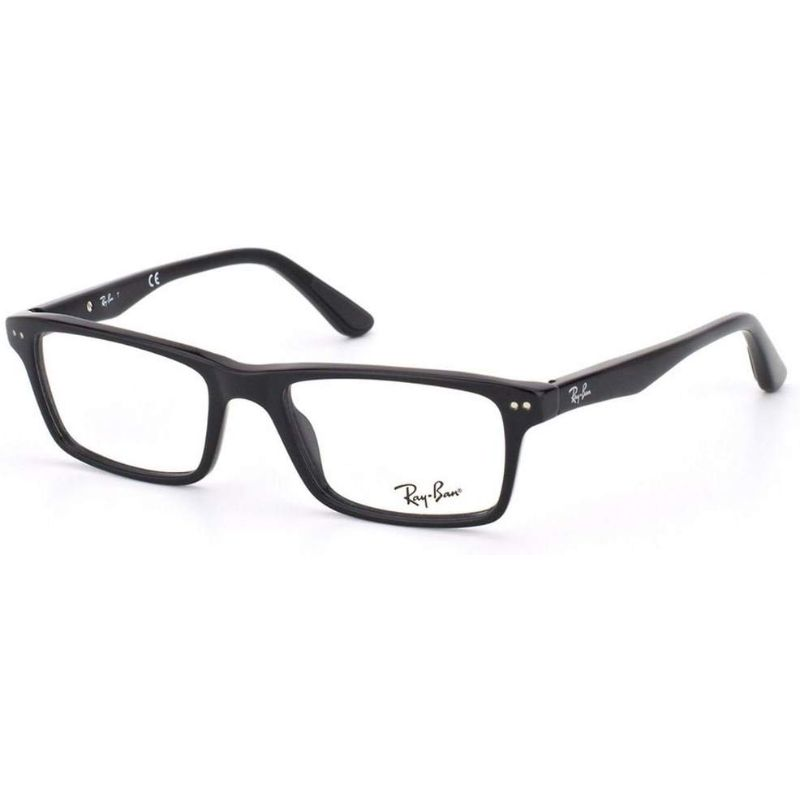 Ray-Ban RX5288 Eyeglass Frames - 52mm Lens-Black/Black-Daily Steals