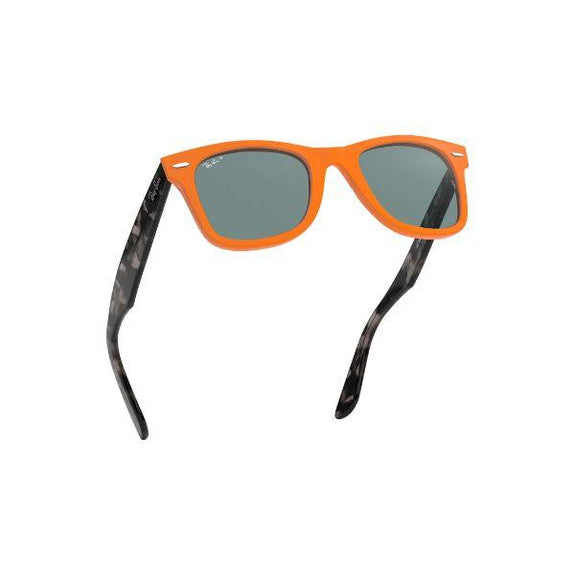 Ray-Ban Sunglasses RB2140 124252 Unisex Wayfarer 50mm Orange Blue Polarized-Daily Steals
