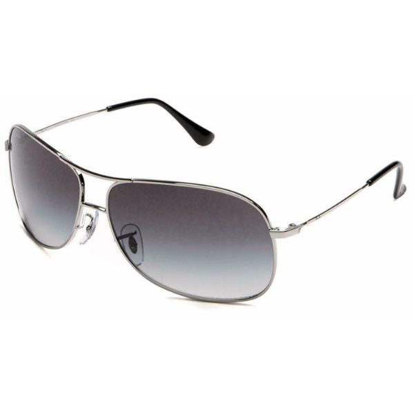 Ray-Ban Sunglasses RB3267 003/8G Silver/Grey Gradient 64mm-Daily Steals