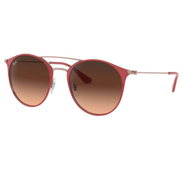 Ray-Ban Sunglasses RB3546 907271 52MM Women's Red Pink Gradient Round-Daily Steals