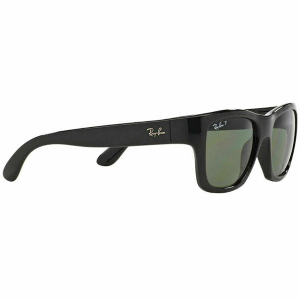 Ray-Ban Sunglasses RB4194 601/9A 53MM Black Polarized Green-Daily Steals