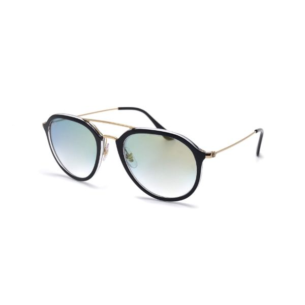 Ray-Ban Sunglasses RB4253 6052/Y0 50 Black Gradient Gold-Daily Steals
