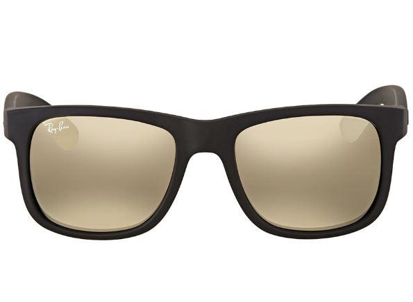 762d044fc Daily Steals-Ray-Ban Justin Color Mix Gold Mirror Rectangular Sunglasses- Accessories-