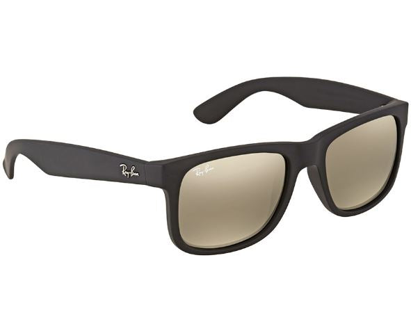 Ray-Ban Justin Color Mix Gold Mirror Rectangular Sunglasses-Daily Steals